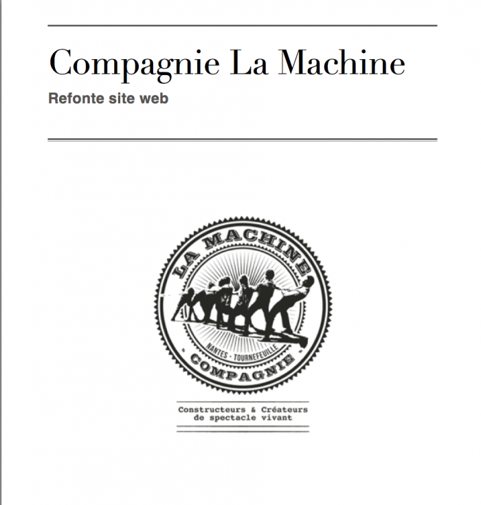 Cahier des charges WordPress
